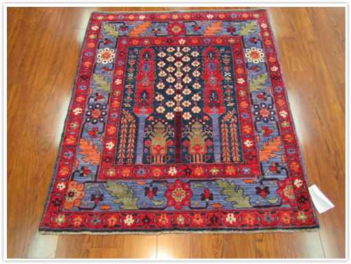Geometric Tribal Reproduction Rug