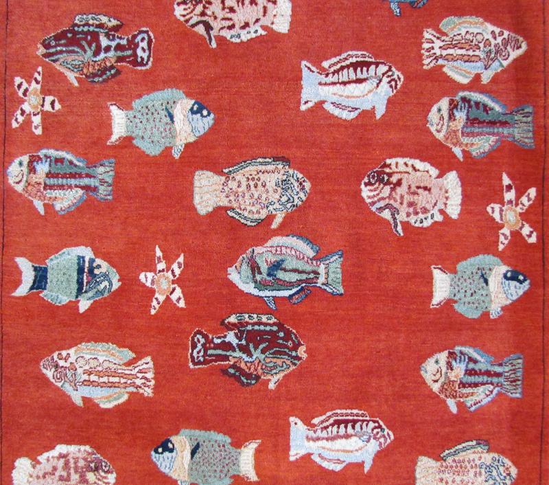 Fish Rug (L52312)