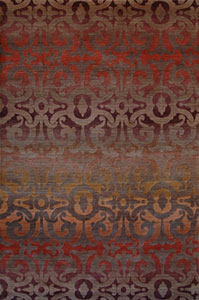 Tibet Rug Company Wrought Iron Walnut